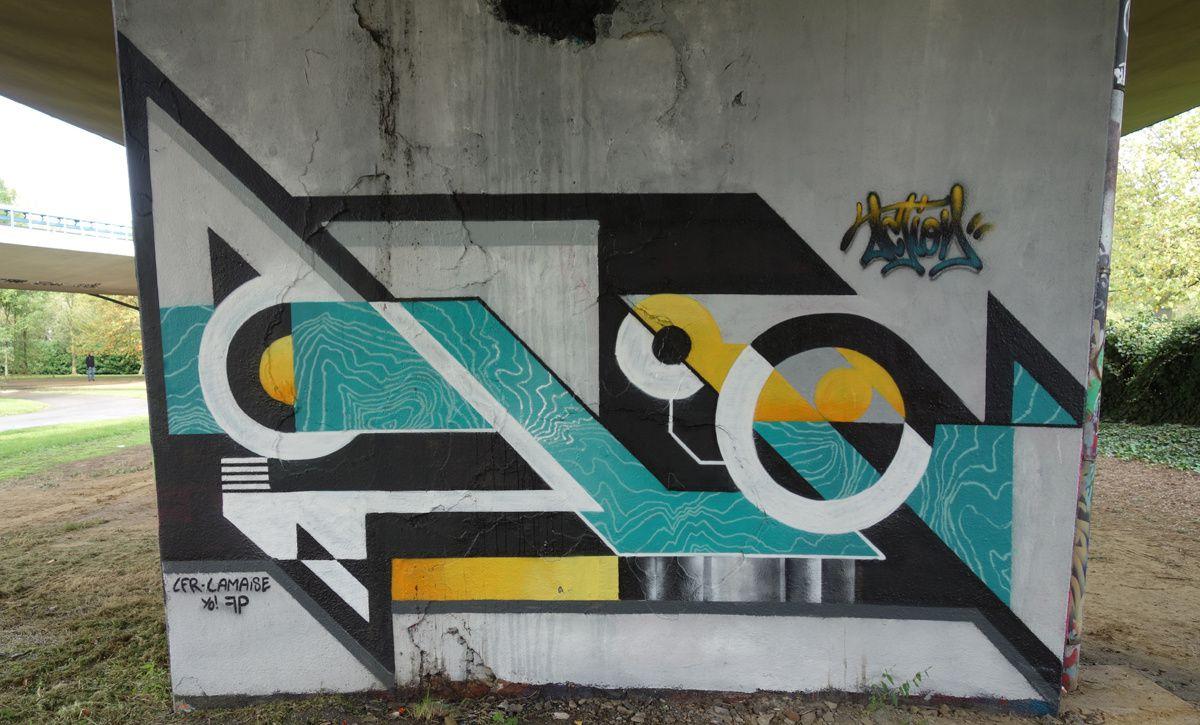 Street Art : Graffitis & Fresques Murales 1070 Anderlecht ( Belgique )