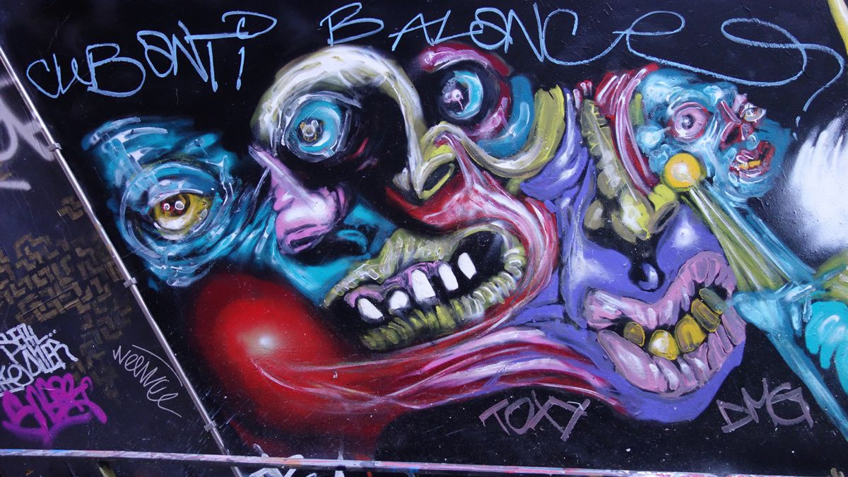 Street Art : Graffitis & Fresques Murales 75013 Paris