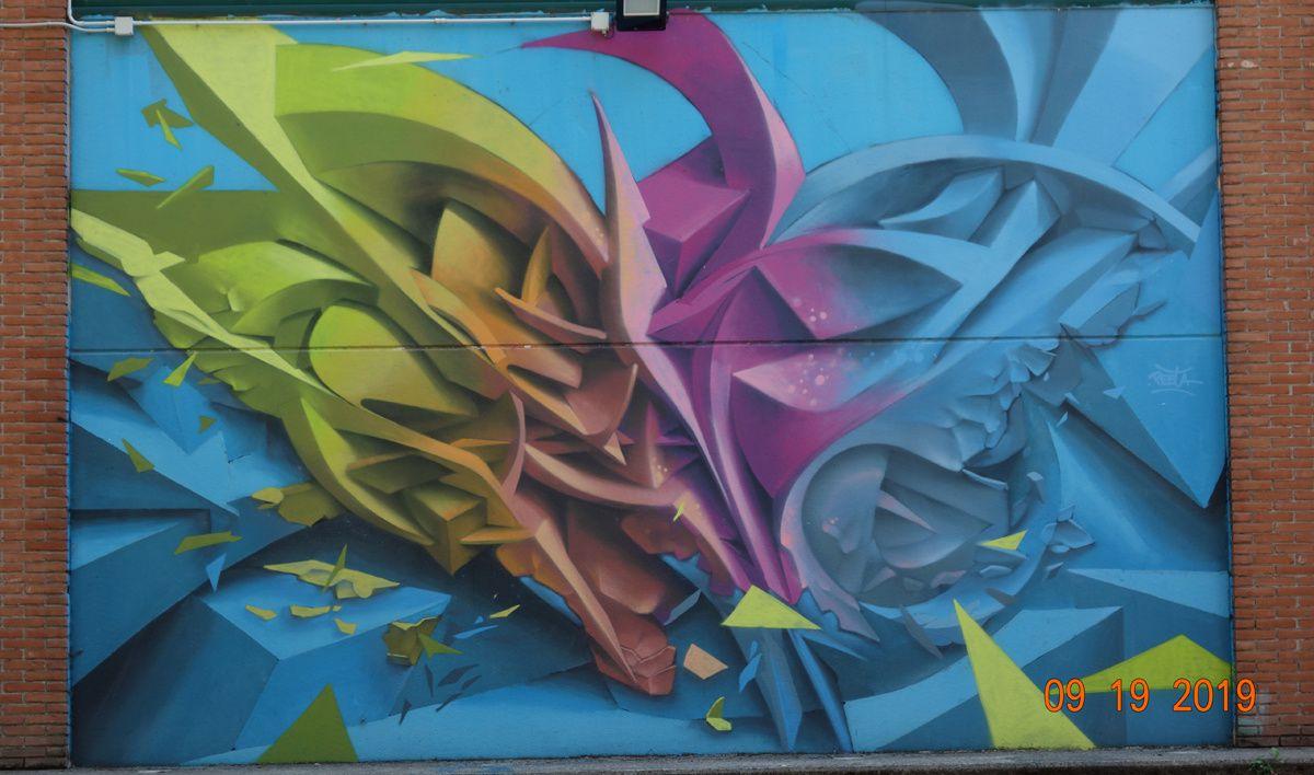 Street Art : Graffitis & Fresques Murales 20017 Rho Milan (Italy)
