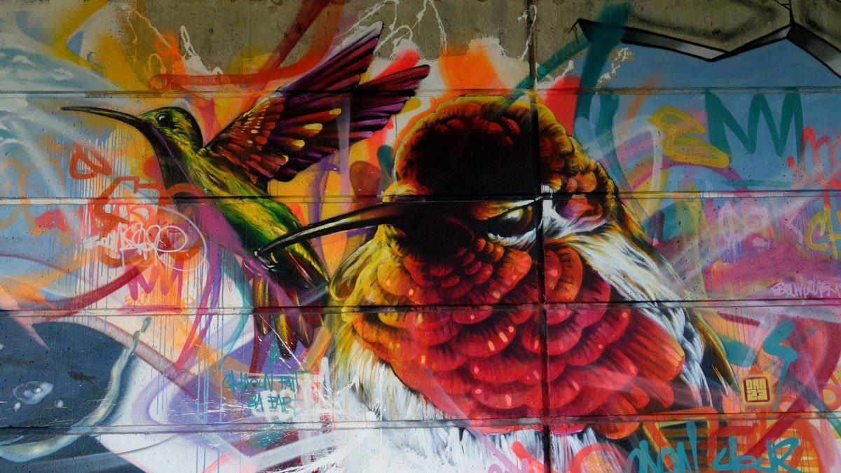 Street Art : Graffitis & Fresques Murales 76620 Le Havre