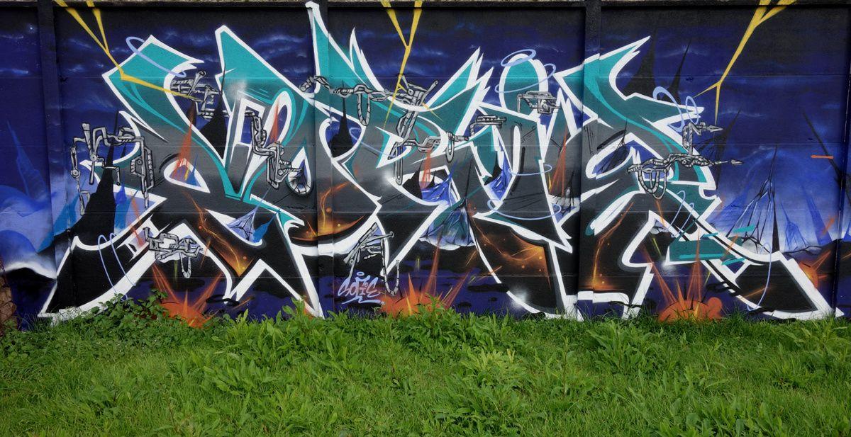 Street Art : Graffitis & Fresques Murales 76920 Amfreville la mi voie