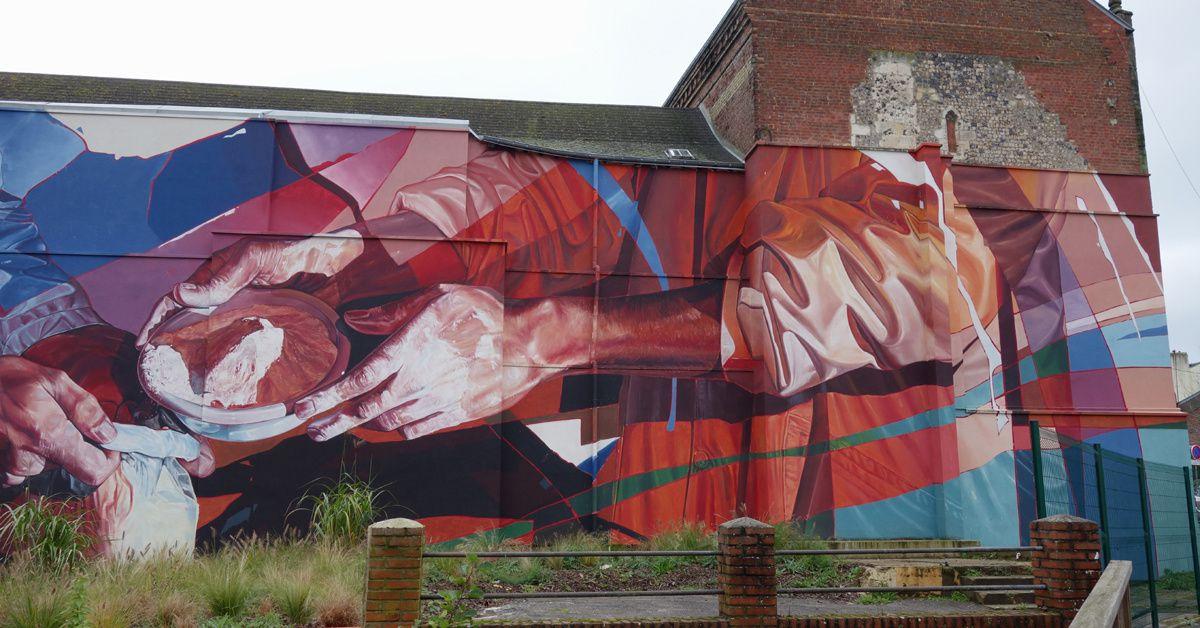 Street Art : Graffitis & Fresques Murales 76290 Montivilliers