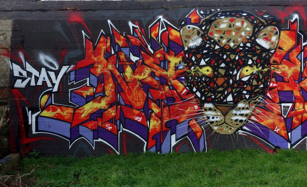Street Art : Graffitis & Fresques Murales 76310 Sainte Adresse