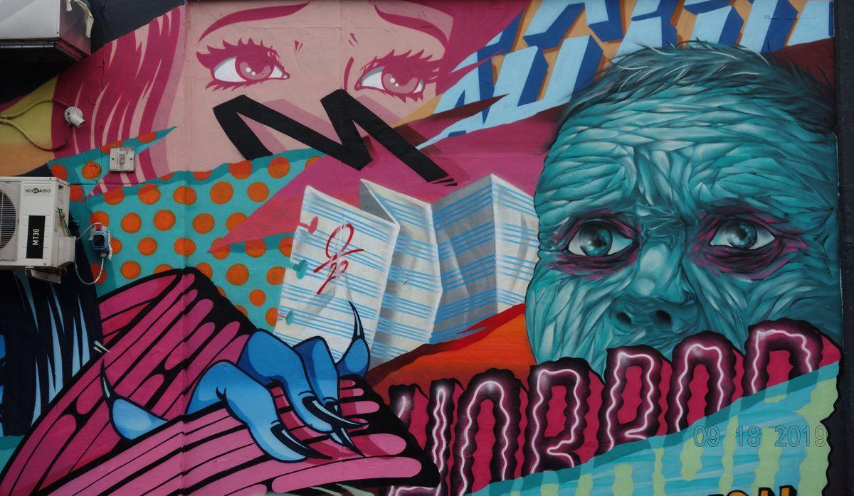 Street Art : Graffitis & Fresques Murales 20090 Trezzano Sul Naviglio (Italy)
