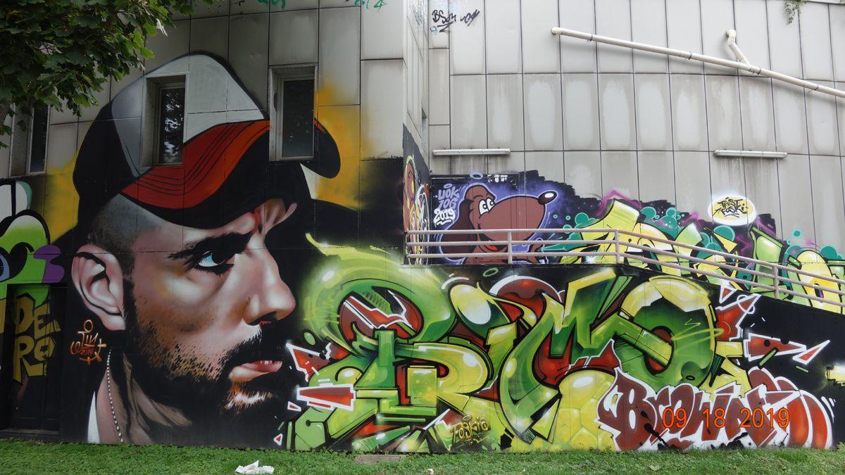 Street Art : Graffitis & Fresques Murales 20142 Milan (Italy)