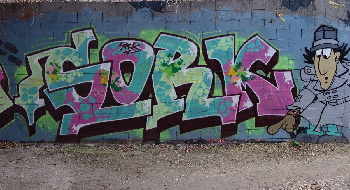 Street Art : Graffitis & Fresques Murales 93010 Bondy