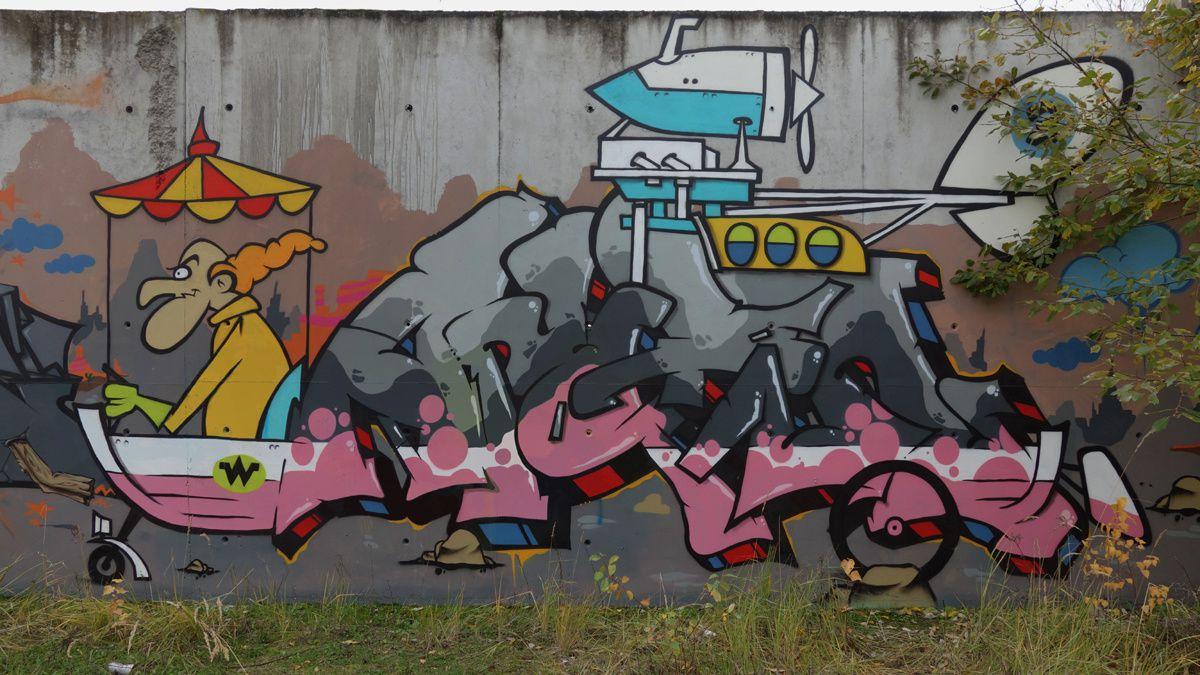 Street Art : Graffitis & Fresques Murales 62215 Carvin