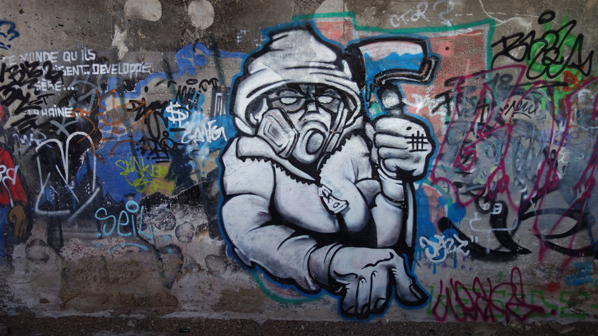 Street Art : Graffitis & Fresques Murales 60584 Saint Leu d'Esserent