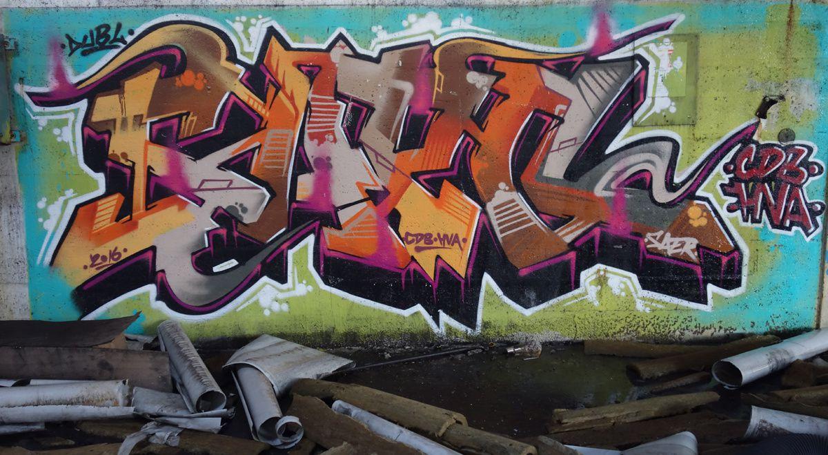 Street Art : Graffitis & Fresques Murales 60414 Montataire
