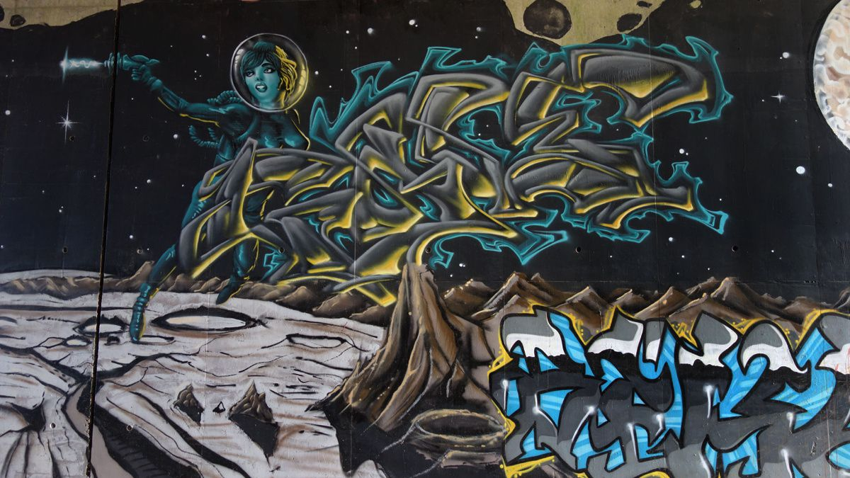 Street Art : Graffitis & Fresques Murales 60009 Allonne
