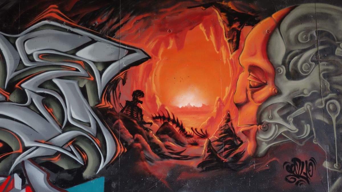 Street Art : Graffitis & Fresques Murales 60057 Beauvais