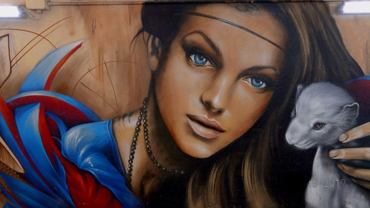 Street Art : Graffitis & Fresques Murales 20085  Locate Di Triulzi (Italy)