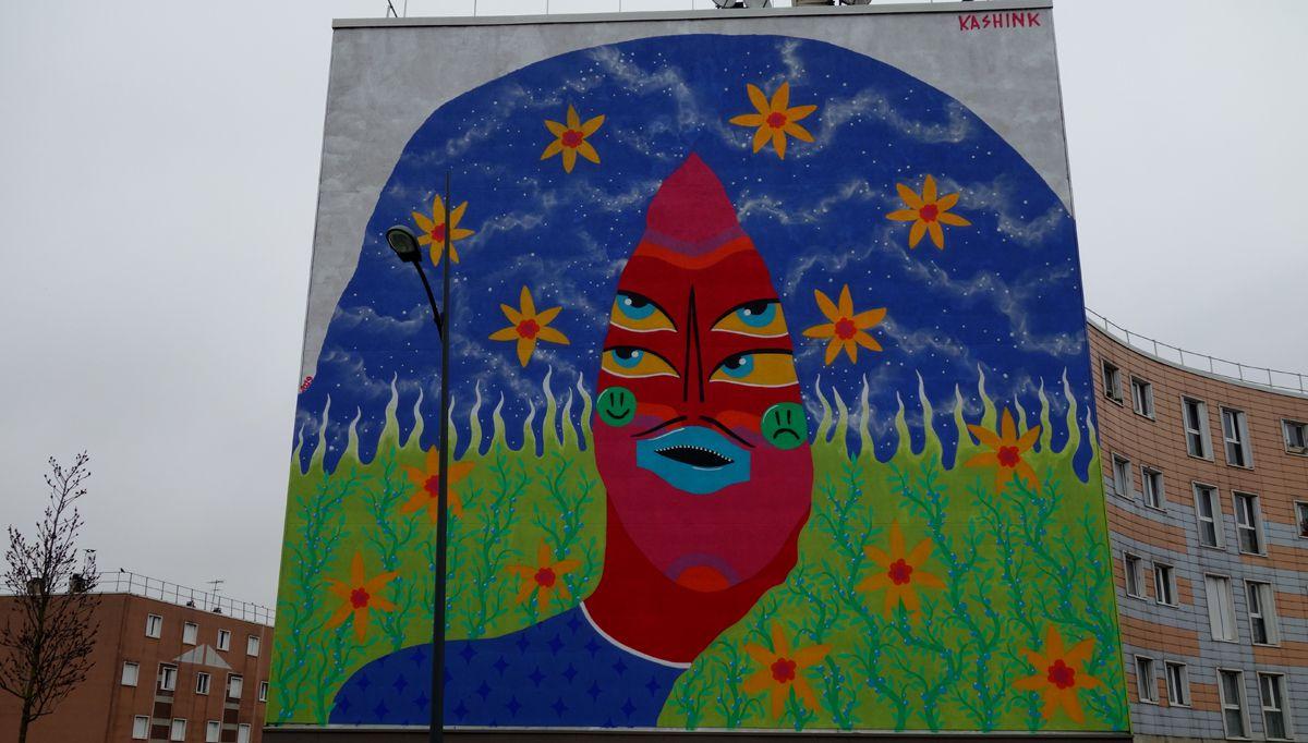 Street Art : Graffitis & Fresques Murales 91286 Grigny