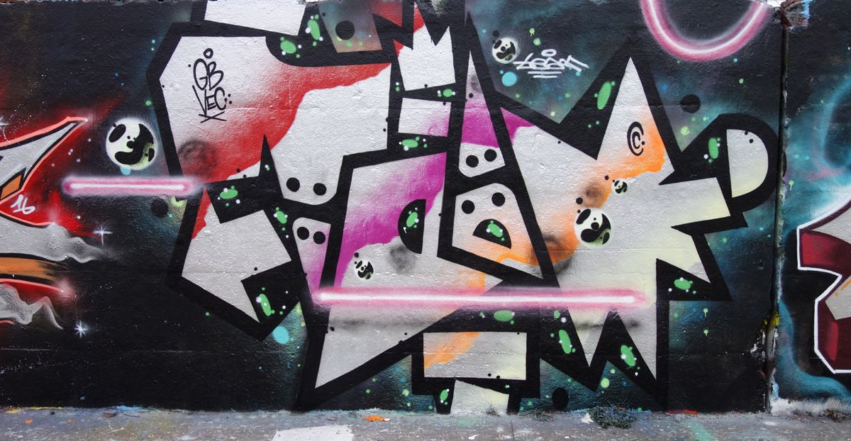 Street Art : Graffitis & Fresques Murales 75019 Paris