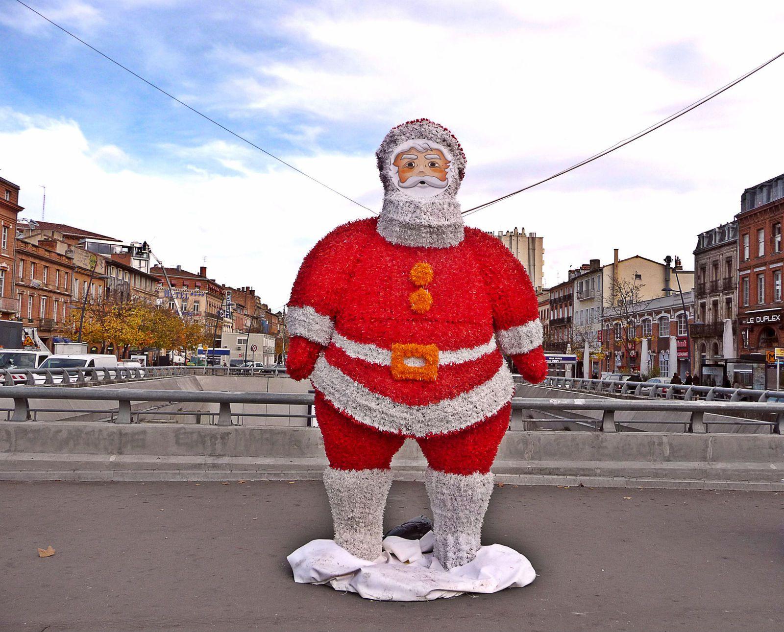 le Père Noël à Toulouse (2014)