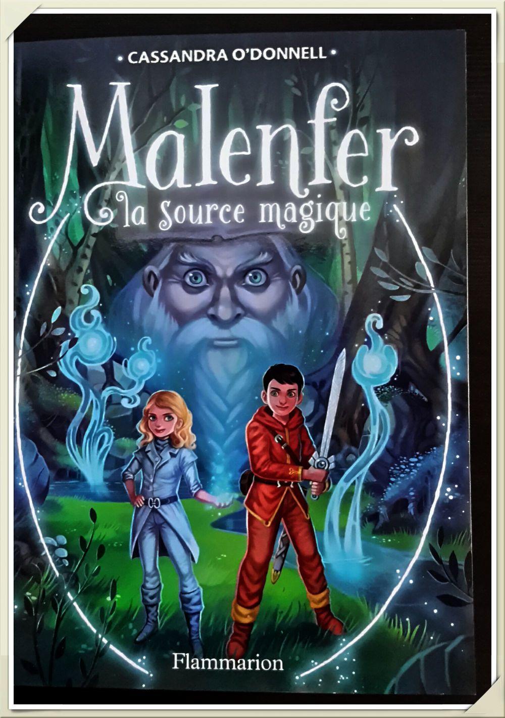 Malenfer – Tome 2 - La Source Magique- Cassandra O'Donnell