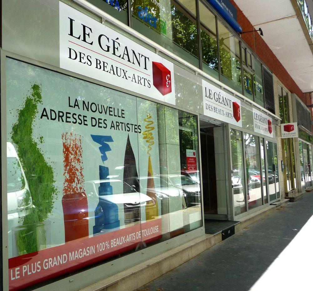Le Géant des Beaux-Arts magasin de Toulouse