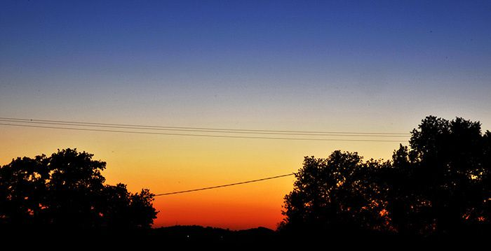 coucher de soleil en Ariège - @bernieshoot