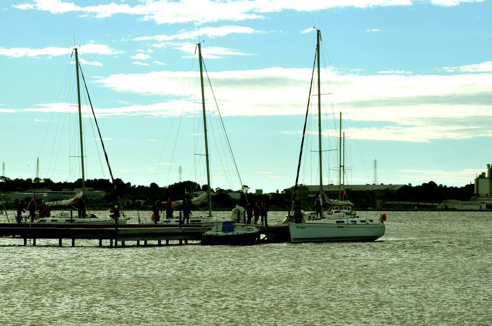 voiliers bord de mer méditerranée - © bernieshoot