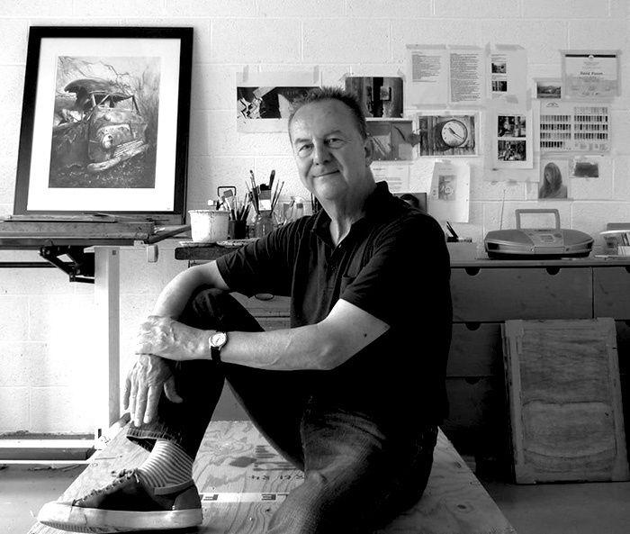 David Poxon Watercolors Painter