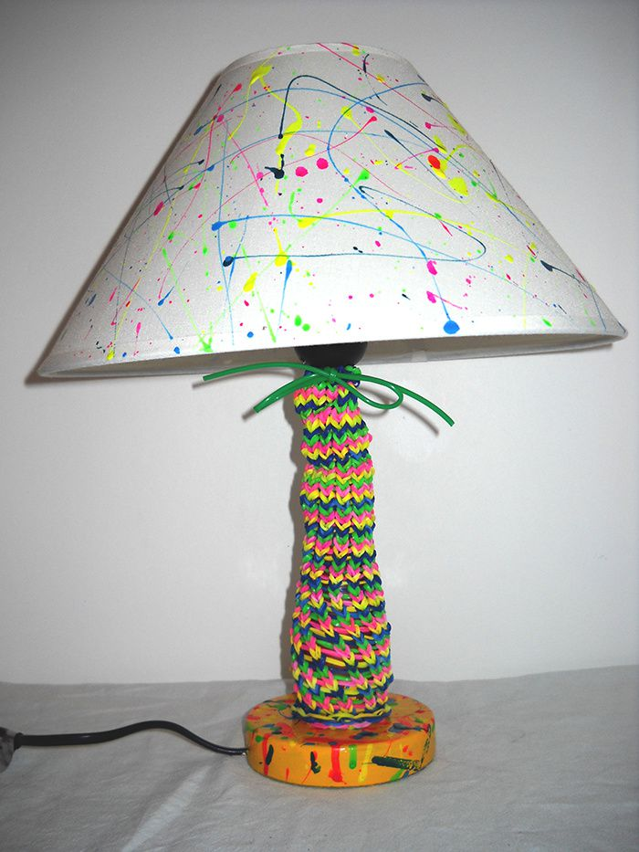 Lampe recyclage Deco-Top