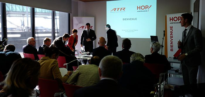 HOP ! AIR France-ATR une Vraie Alliance