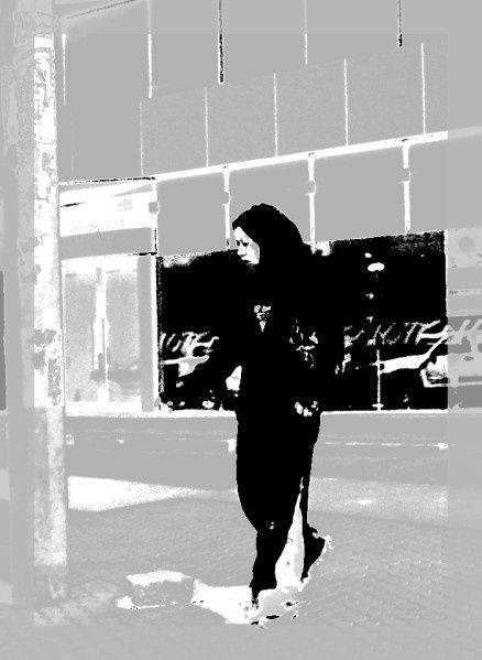 Jilbab Saoudien au quotidien