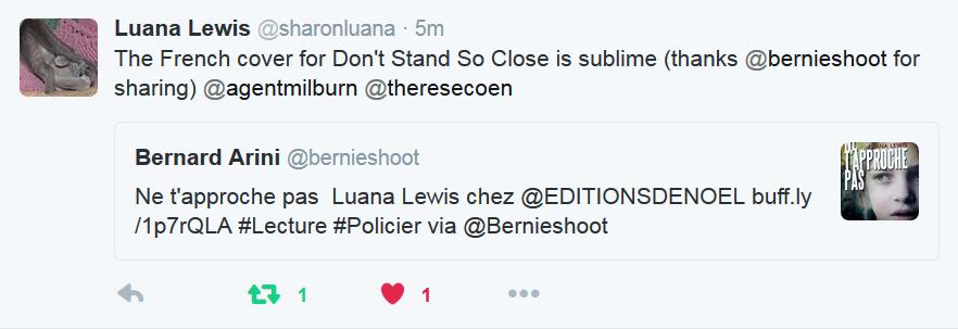 Luana Lewis Ne t'approche pas