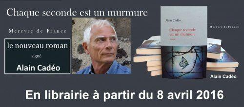 nouveau roman d'Alain Cadéo