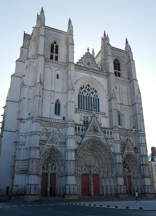 nantes cathedrale atmosphere