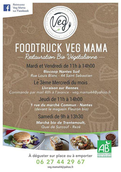 foodtruck veg mama nantes