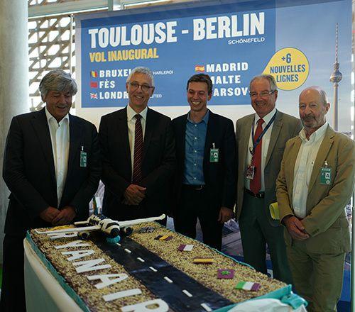 vol inaugural toulouse blagnac berlin ryanair