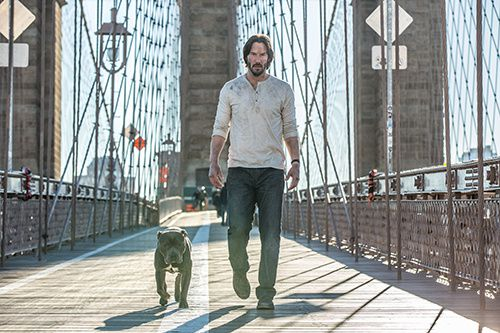 john wick 2 premieres photos