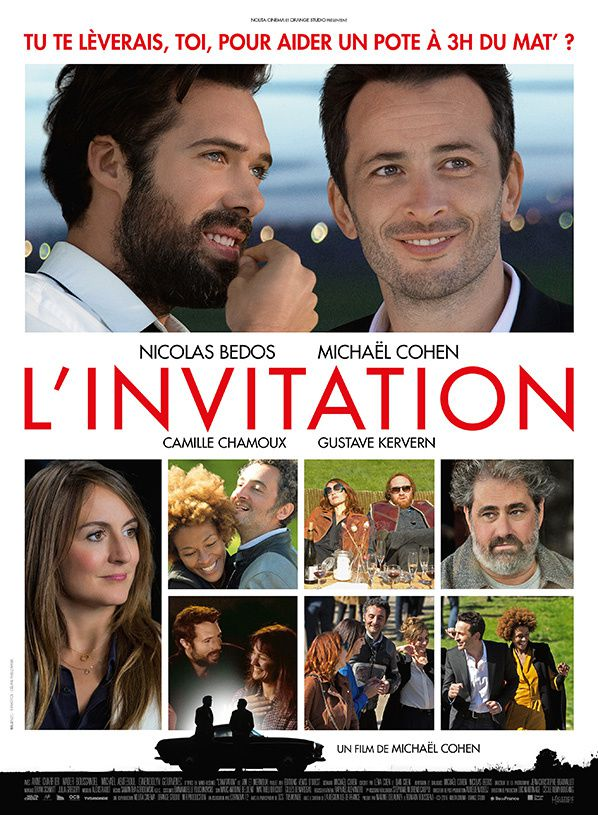 L'Invitation  un film de Michaël Cohen et Nicolas Bedos.