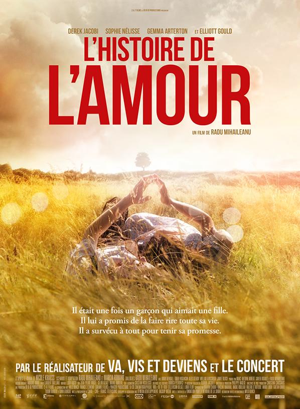 L'Histoire de l'Amour, Un film de Radu Mihaileanu Au cinéma le 9 novembre.