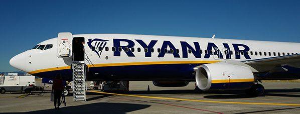 Ryanair : promo flash sur 999 LIGNES jusqu'à ce soir minuit!