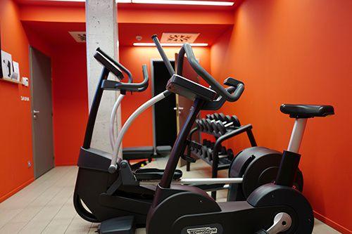 okko hotel fitnessraum nantes