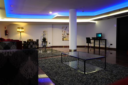 lounge exe moncloa hotel madrid spain