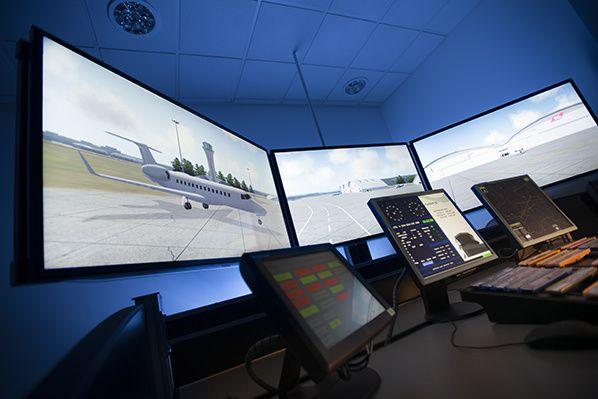NATS' air traffic control training simulator