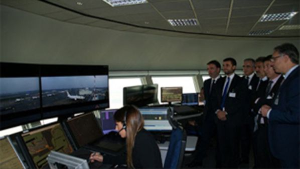 crédit photo  Italian partners demonstrate benefits of remote tower technology