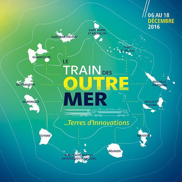 Le Train des Outre-Mer sera en gare de Montpellier et de Toulouse