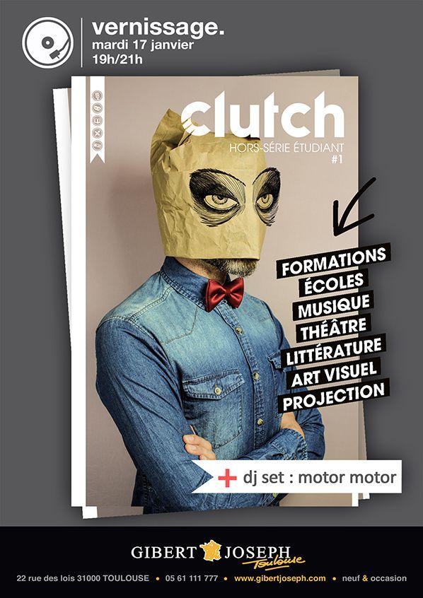 Release party du hors-série Clutch spécial Etudiants à Toulouse