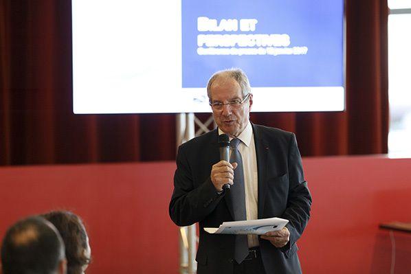 Jean-Michel Vernhes, président du directoire d'Aéroport Toulouse-Blagnac : © ATB/Guillaume Serpault