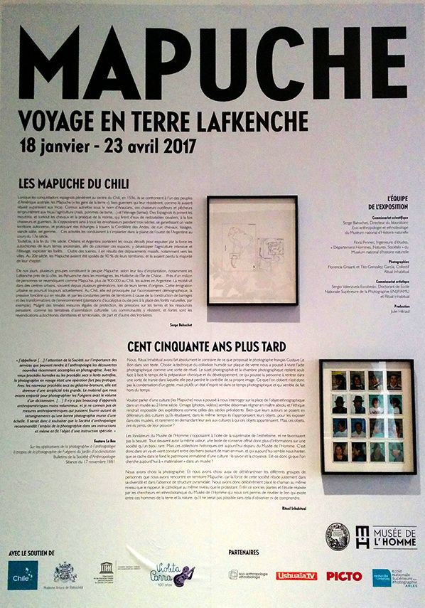 mapuche chili exposition paris musee homme