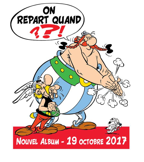 credit photo ASTÉRIX ® - OBÉLIX ® / © 2017 LES ÉDITIONS ALBERT RENÉ