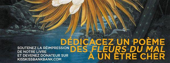 campagne de financement participatif réimpression du chef d'œuvre les Fleurs du Mal de Charles Baudelaire