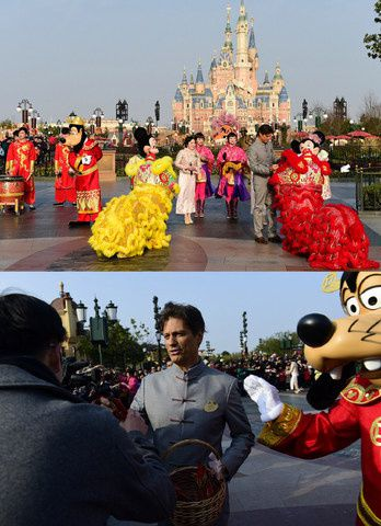 credit photo (PRNewsFoto/Shanghai Disney Resort)