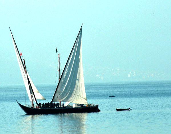 la vaudoise sur le lac léman