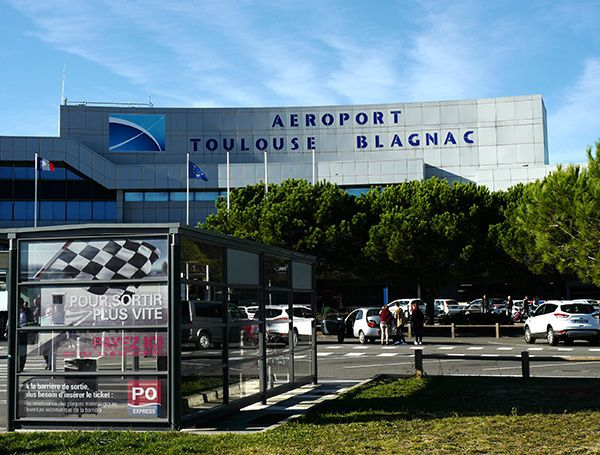 Forte progression du trafic international à l'aéroport de Toulouse-Blagnac en janvier