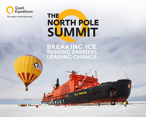 Quark Expeditions Hosts Epic 2017 North Pole Summit
